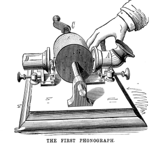 The First Phonograph
