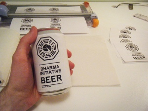 Creating Dharma Initiative Beer