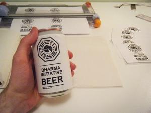Creating Dharma Initiative Beer