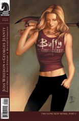 The cover of the season eight Buffy comic book released by Dark Horse